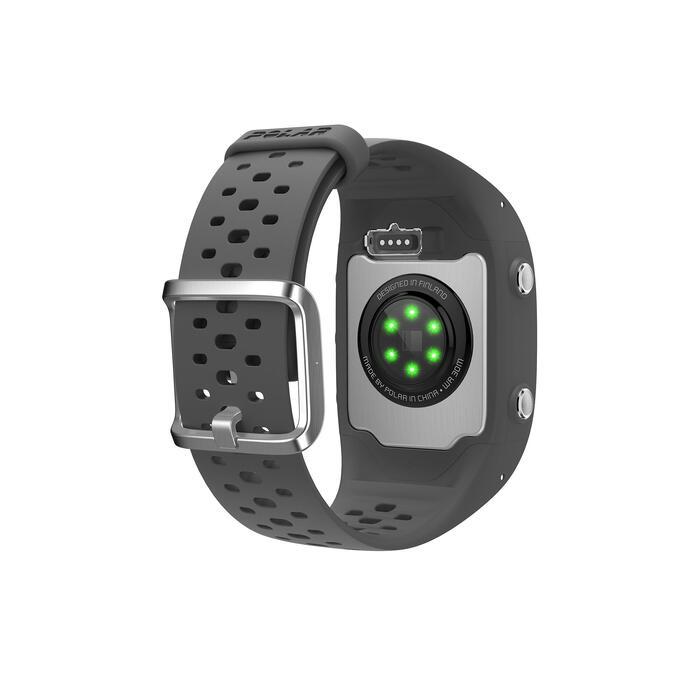 MONTRE GPS RUNNING CARDIO POIGNET M430 grise - 1213821