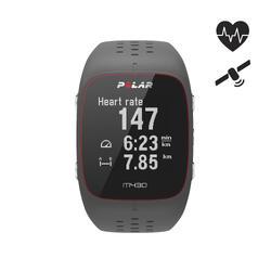 GPS-horloge hartslagmeting aan de pols M430 grijs
