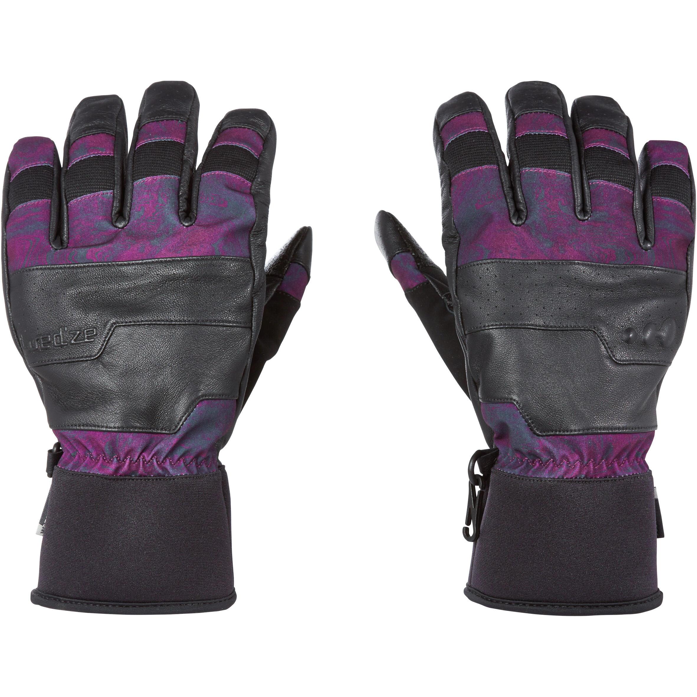 Wed'ze Handschoenen Free 700 voor freestyle snowboarden, voor heren/dames thumbnail
