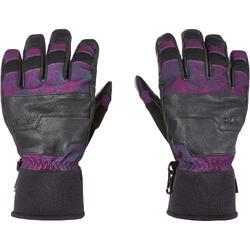 Handschoenen voor freestyle snowboarden, heren/dames, Free 700 paars/grijs