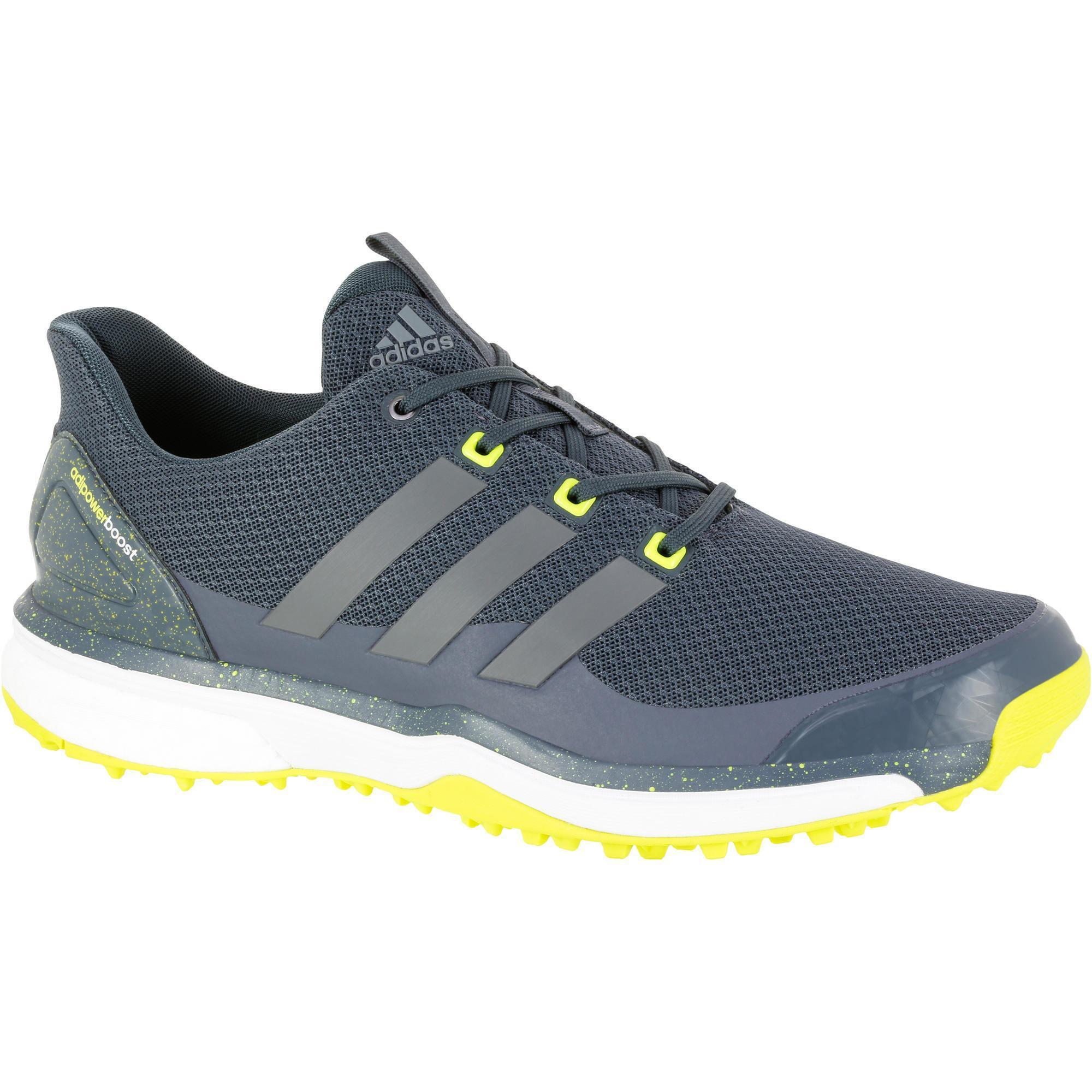 Adidas Golfschoenen Adipower Boost voor heren grijs
