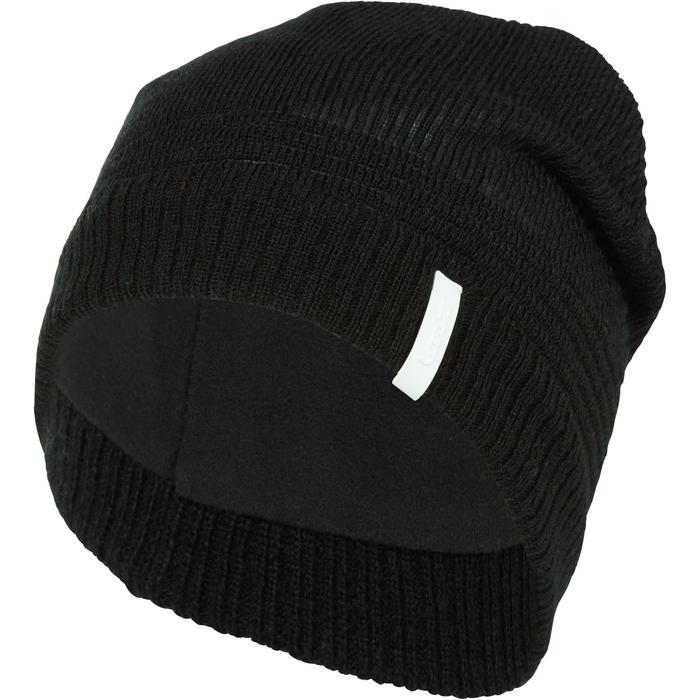 BONNET DE SKI ADULTE PURE NOIR