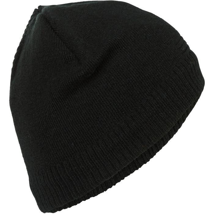 成人滑雪帽PURE - 黑色