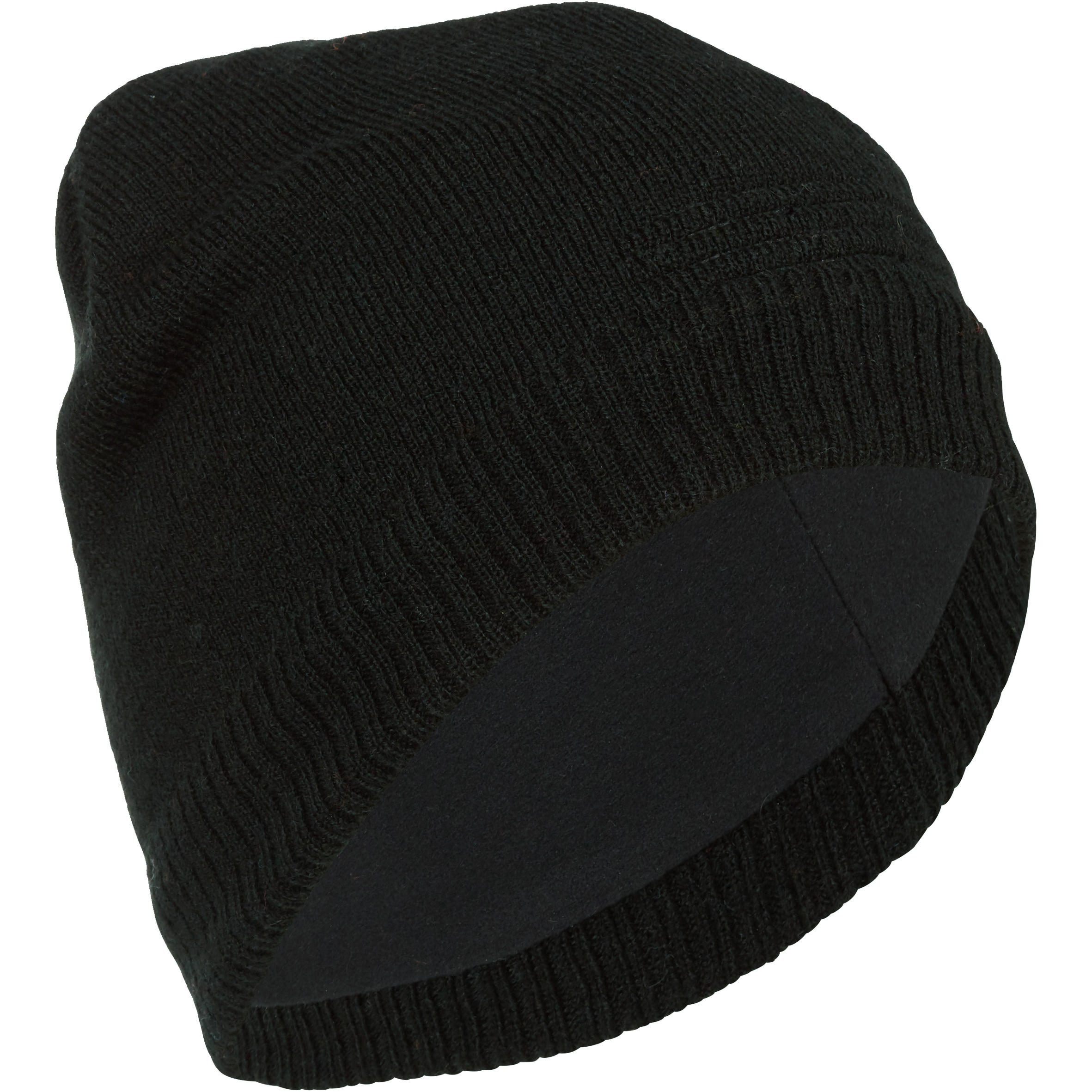 TUQUE DE SKI ADULTE PURE NOIR