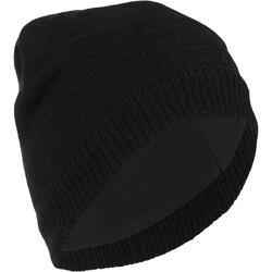 成人滑雪帽PURE黑色