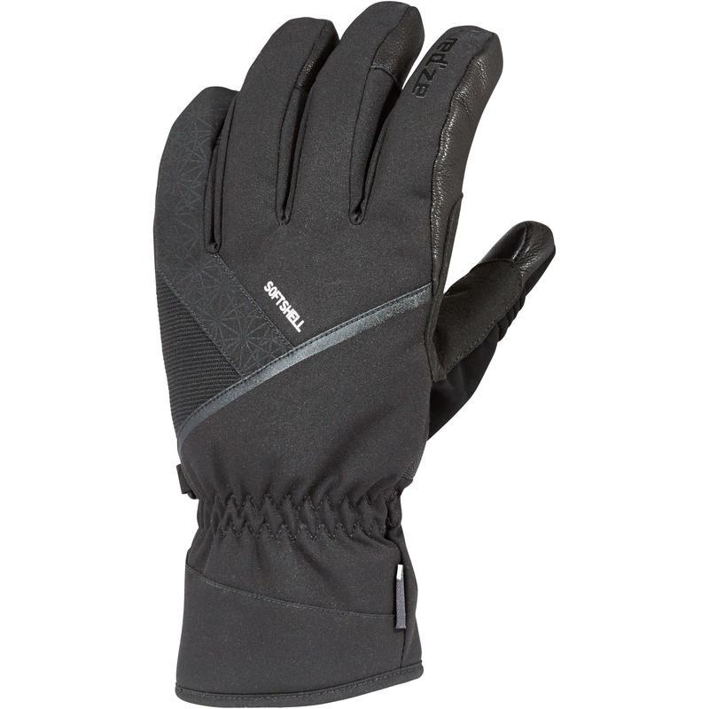 Ski-P GL 500 Adult Downhill Ski Gloves - Black 16afb2b0f81a