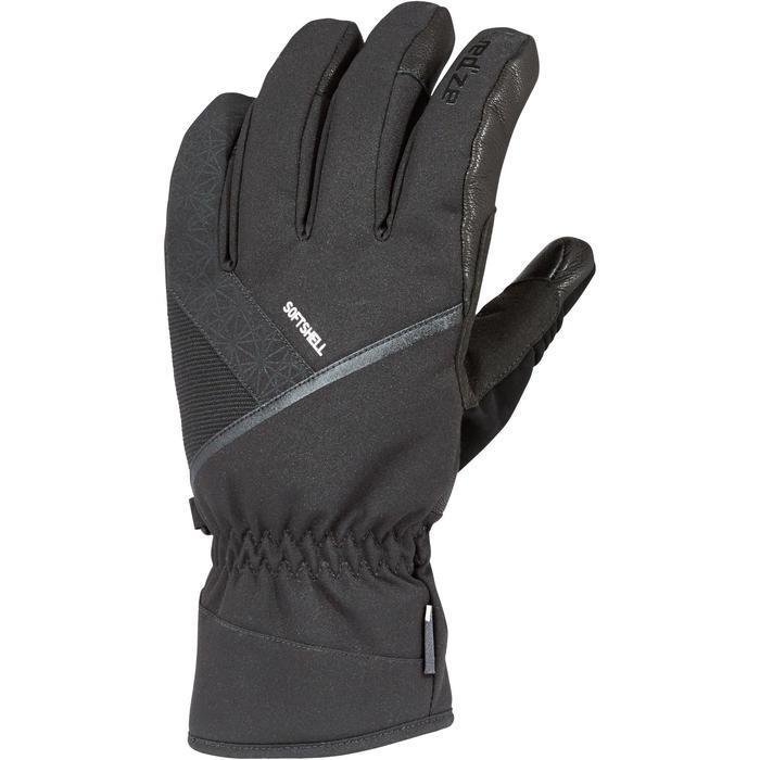 Skihandschoenen voor pisteskiën volwassenen 500 zwart