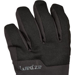 Snowboard and Ski Gloves SNB GL 500 - Black
