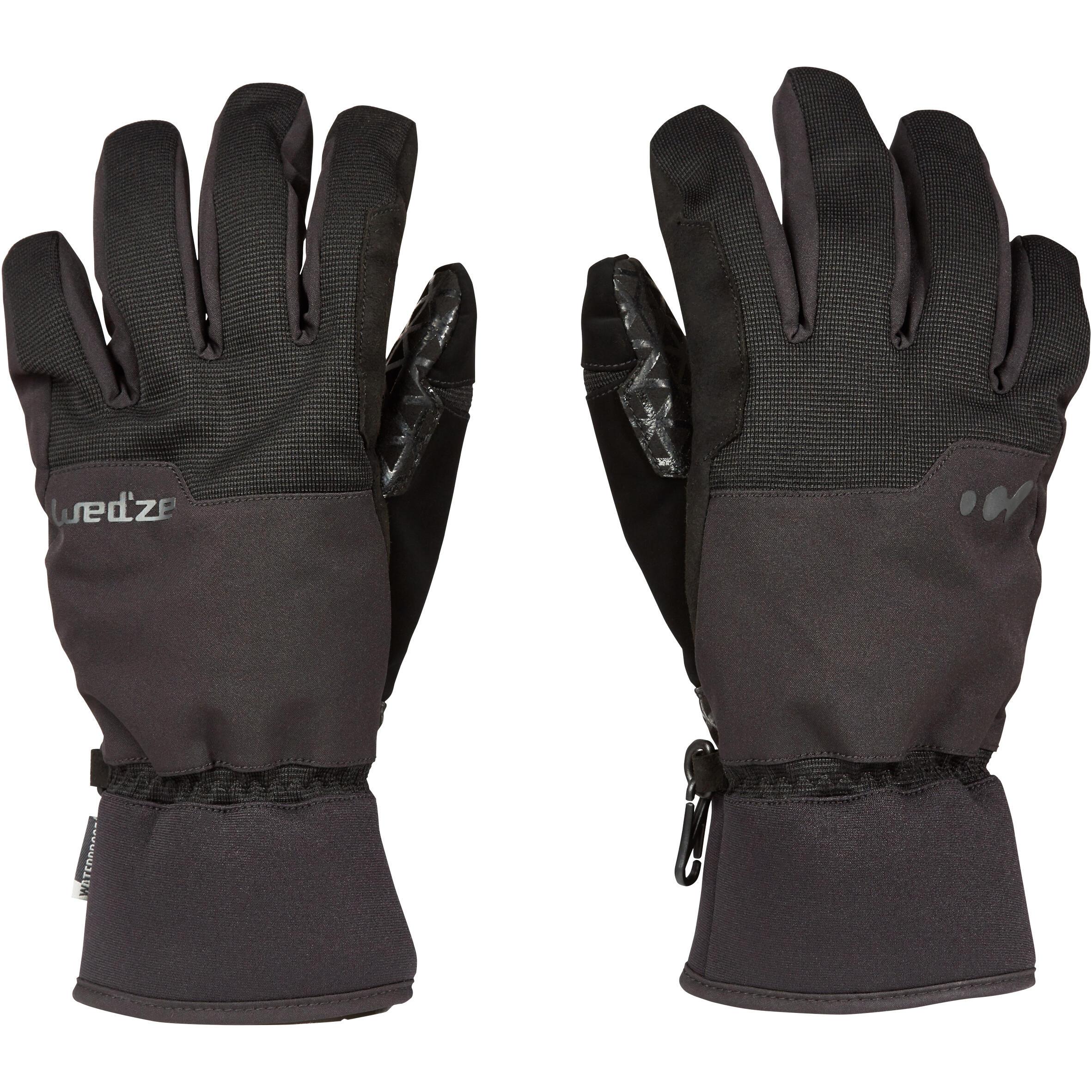 Wed'ze Handschoenen Free 300 voor freestyle snowboarden, voor heren / dames thumbnail