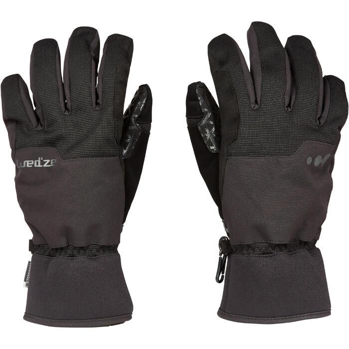 單/雙板滑雪手套SNB GL 500 - 黑色