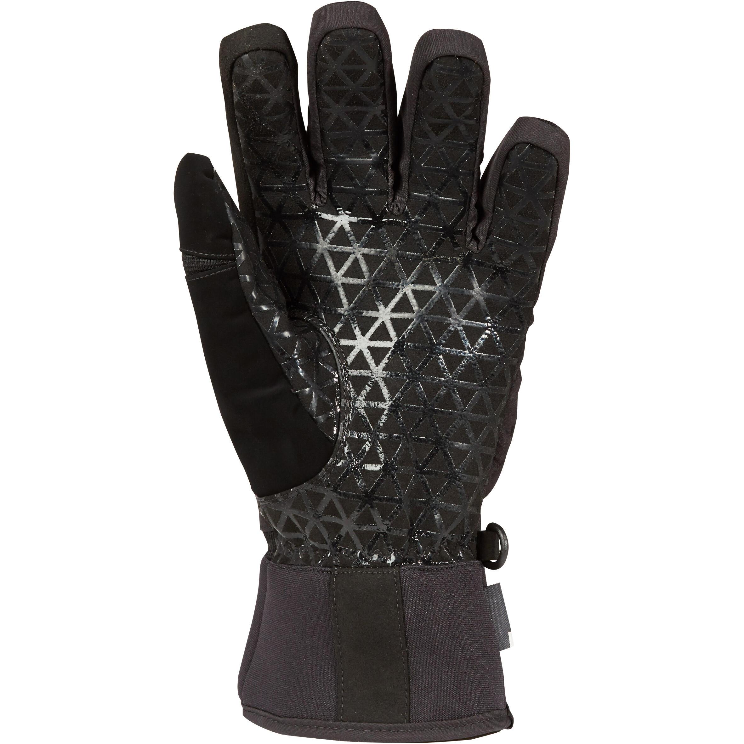 SNB GL 500 Snowboard and Ski Gloves - Black