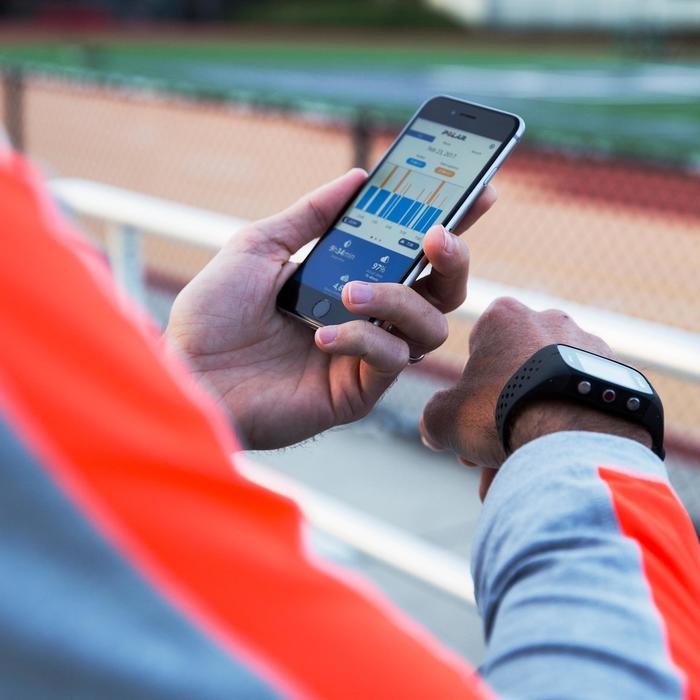 GPS-horloge voor hardlopen hartslagmeting aan de pols M430 wit