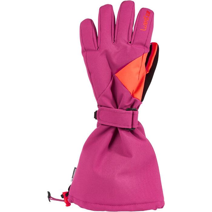 Skihandschuhe Slide 500 Kinder violett
