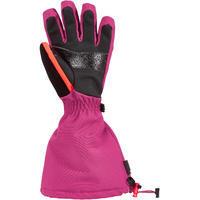 Kids' Ski Gloves 500 - Pink