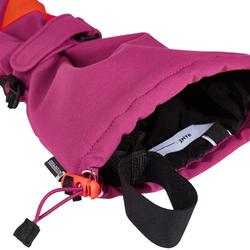 Skihandschoenen voor kinderen GL 500 violet
