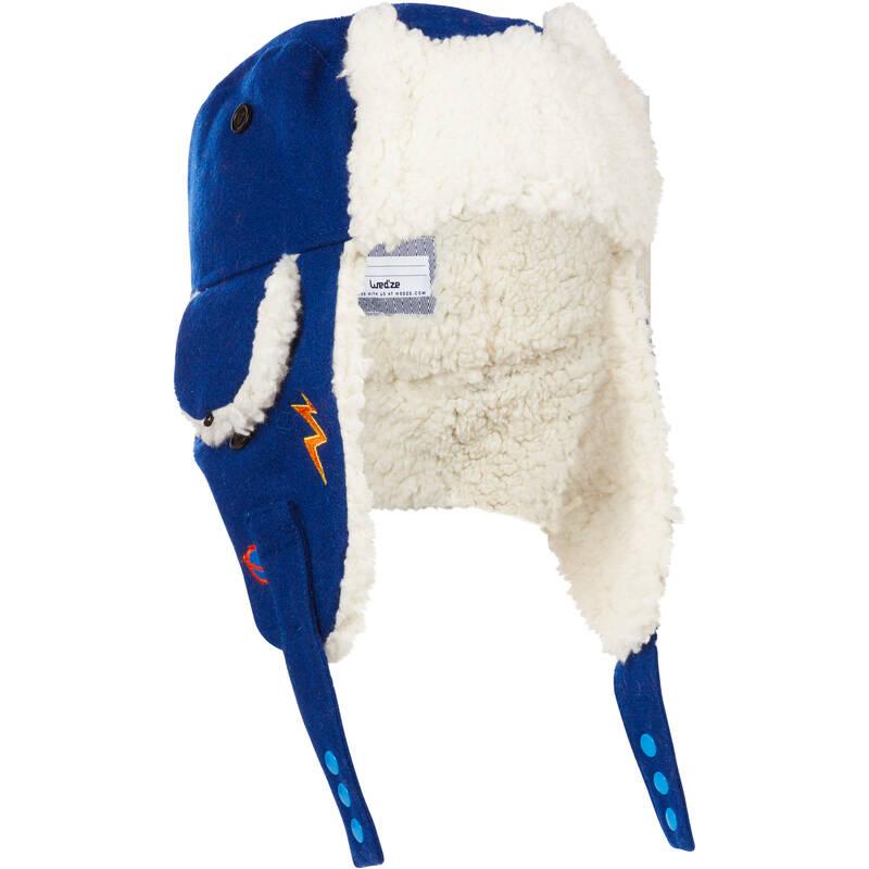 DĚTSKÉ LYŽAŘSKÉ ČEPICE Lyžování - DĚTSKÁ BERANICE KID MODRÁ  WEDZE - Lyžařské oblečení a doplňky