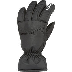 ADULT DOWNHILL SKIING GLOVES 100 - BLACK
