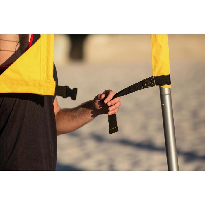 Filet de beach-volley BV700 jaune - 1214008