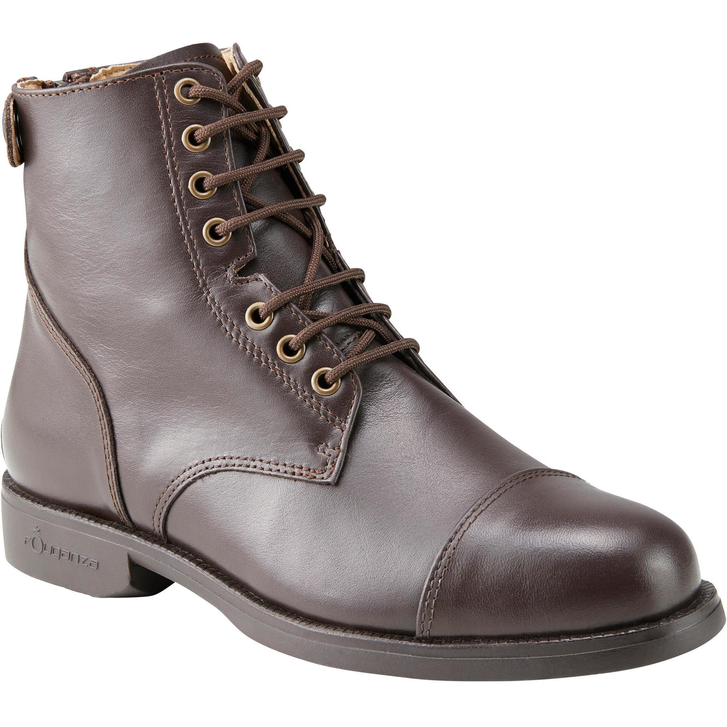 Reitstiefeletten Paddock geschnürt Erwachsene   Schuhe > Sportschuhe   Fouganza