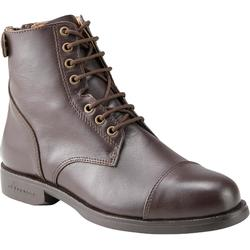 500 Paddock Horse Riding Jodhpur Lace-up Boots - Brown