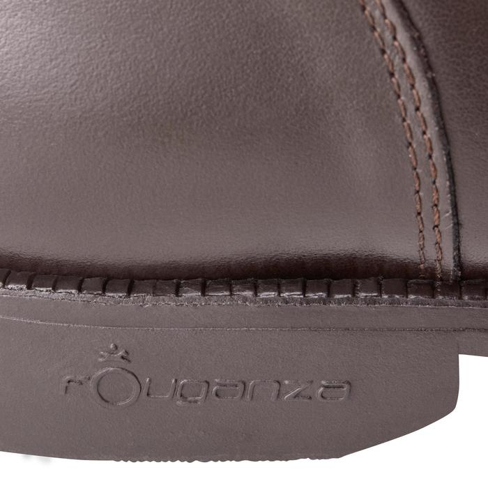 Boots équitation adulte PADDOCK 500 LACETS marron - 1214080