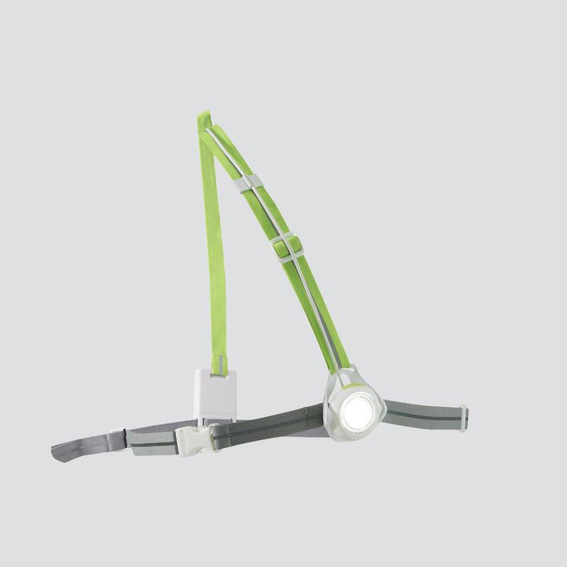 Běžecká svítilna Run Light 250 bílá