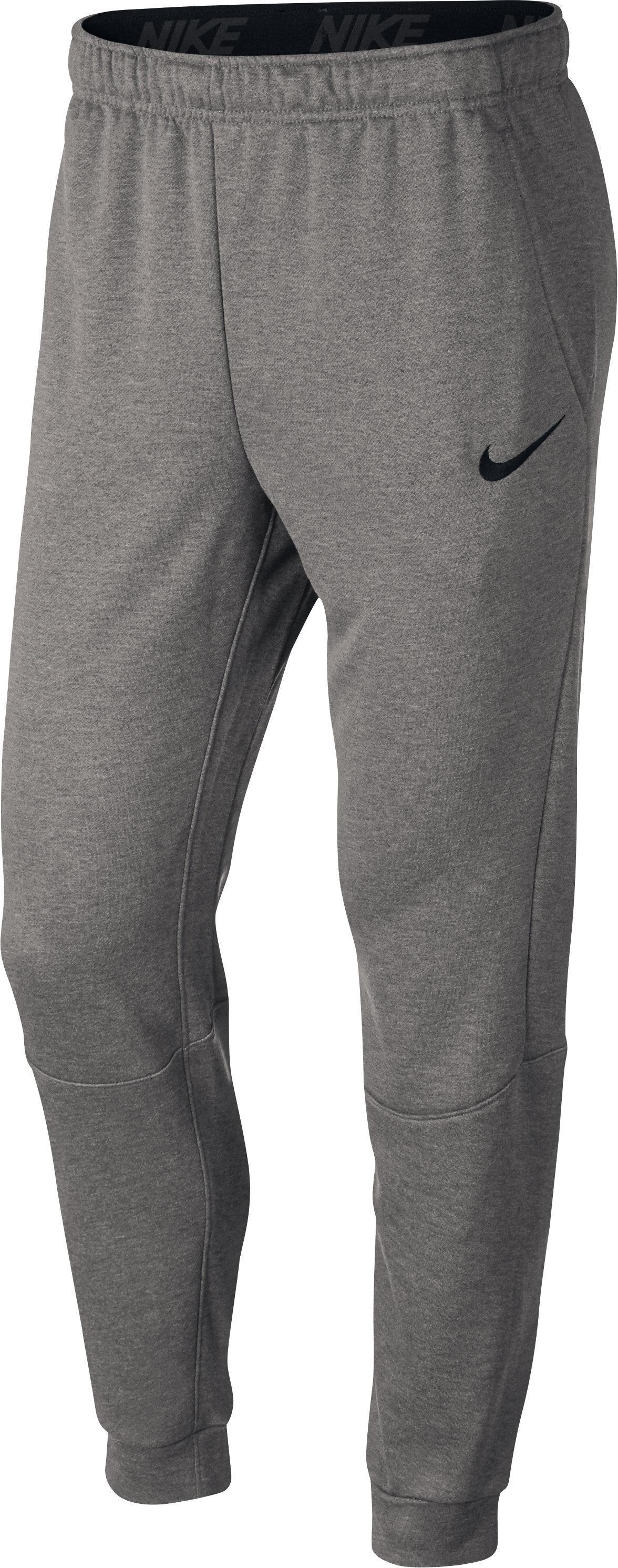 Nike Herenbroek voor gym en pilates grijs