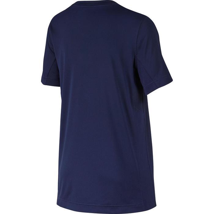 T-Shirt Fitness garçon bleu - 1214155