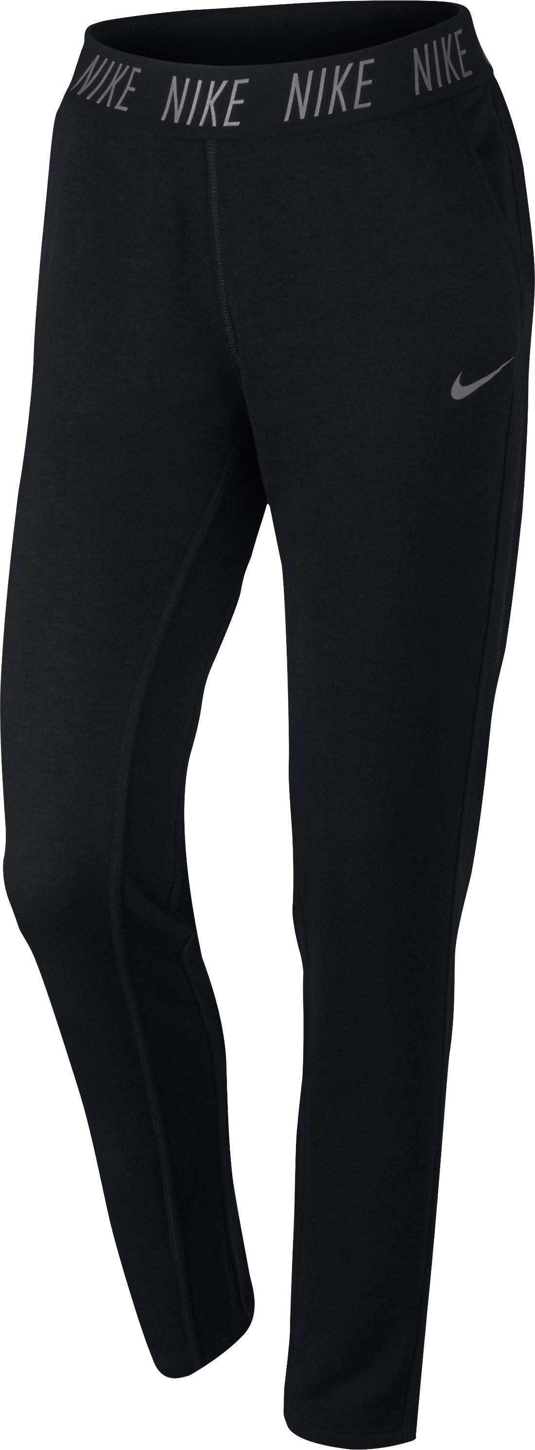 Nike Damesbroek voor gym en pilates zwart