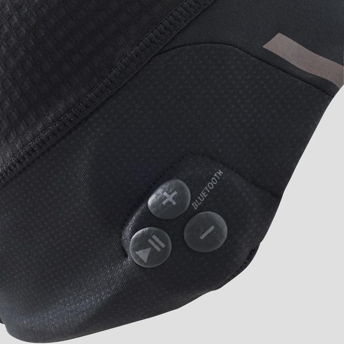 Bluetooth beanie voor hardlopen zwart - 1214207