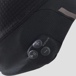 Laufmütze Musik Bluetooth schwarz