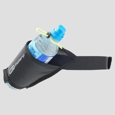 חגורת ריצה לנשיאת בקבוק - שחור