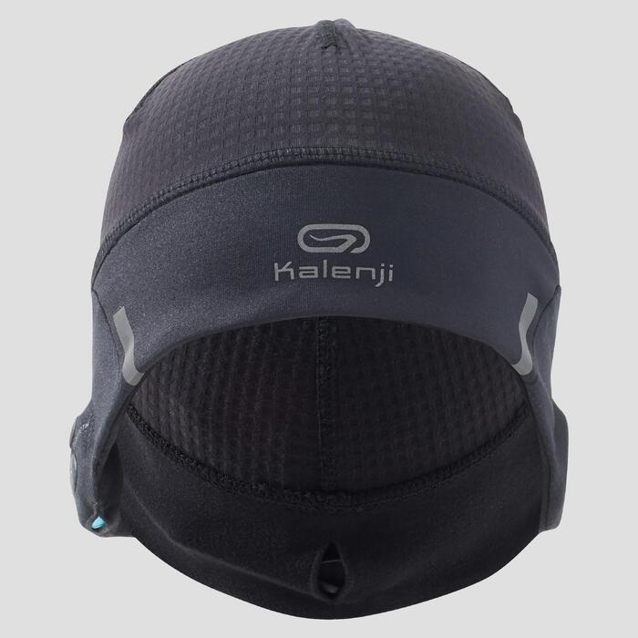 Bluetooth beanie voor hardlopen zwart - 1214219