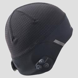 Bluetooth beanie voor hardlopen zwart