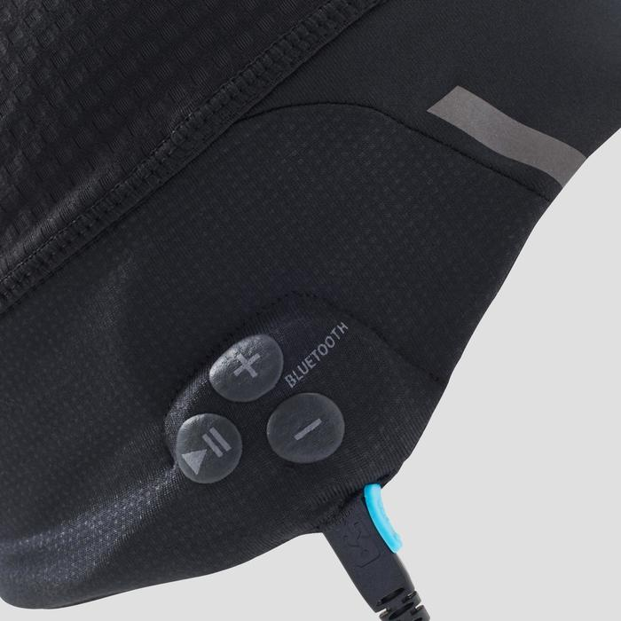 Bluetooth beanie voor hardlopen zwart - 1214242