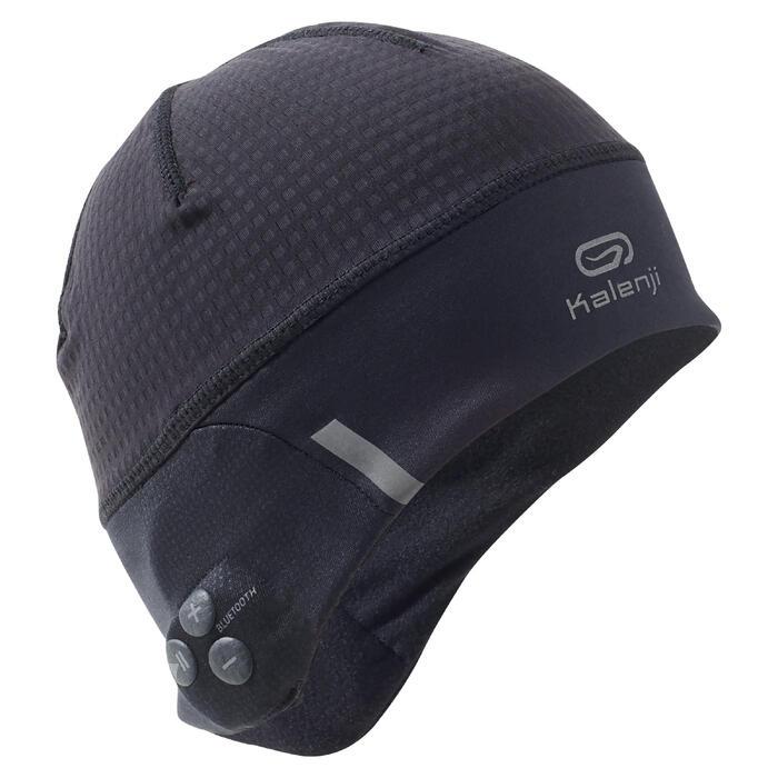 Bluetooth beanie voor hardlopen zwart - 1214261