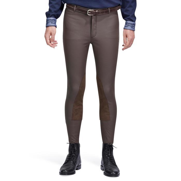 Pantalon chaud et imperméable équitation homme KIPWARM - 1214300