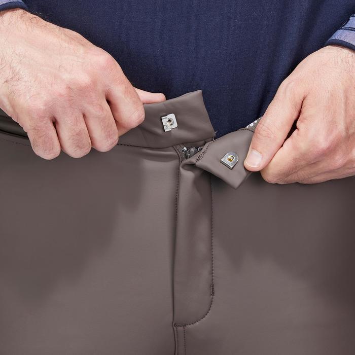 Pantalon chaud et imperméable équitation homme KIPWARM - 1214308