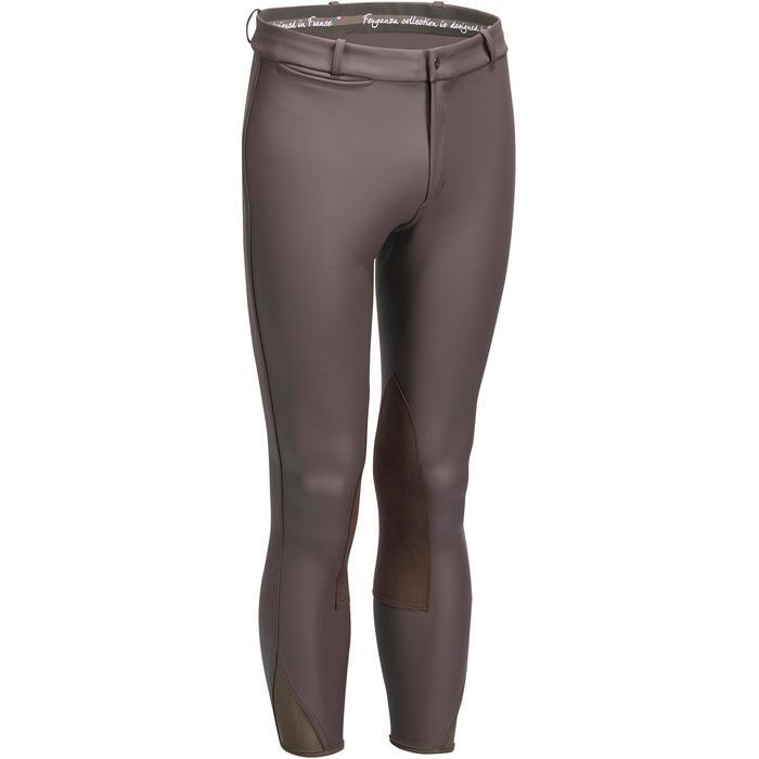 Pantalon chaud et imperméable équitation homme KIPWARM - 1214310