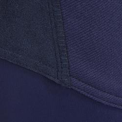 Pantalón cálido equitación mujer VICTORIA badana Azul marino