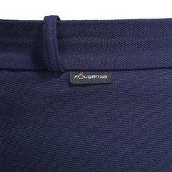 Warme rijbroek voor dames met ingezet zitvlak Victoria marineblauw