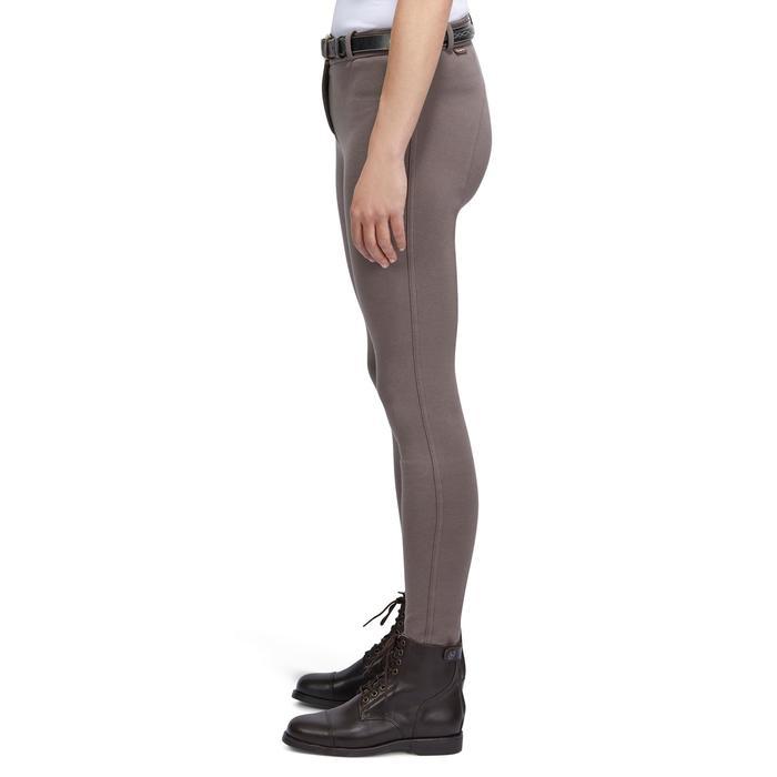 Reithose BR140 mit griffigem Kniebesatz Damen braun