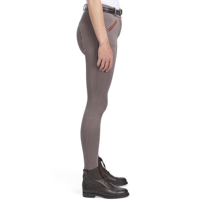 Reithose 140 Rutschfester Kniebesatz Damen braun