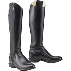560 Adult Horse Riding Leather Long Jodhpur Boots - Black