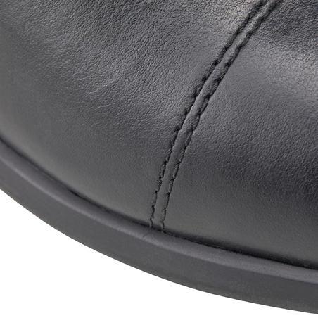 Bottes cuir équitation adulte 560 noir