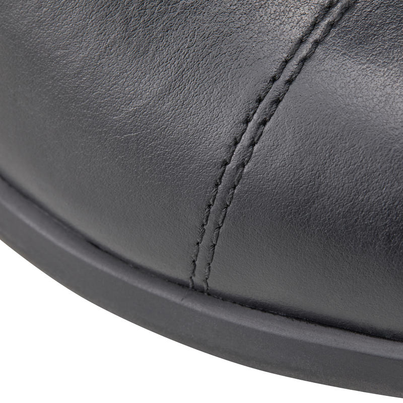 560 Adult Horse Riding Leather Jodhpur Boots - Black