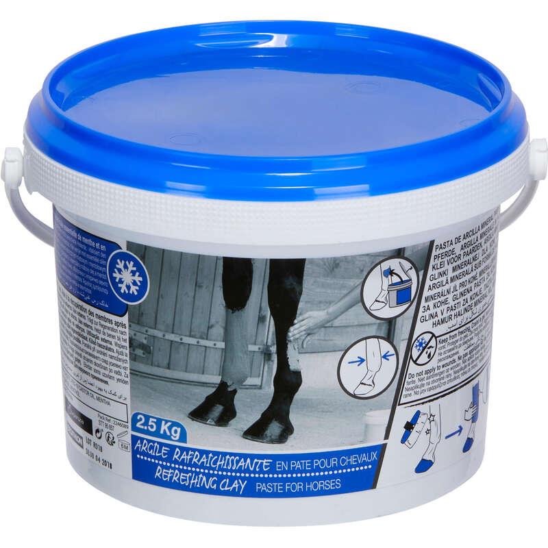TOELETTATURA DEL CAVALLO Equitazione - Argilla rinfrescante 2,5 kg FOUGANZA - Tutti gli sport