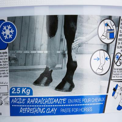 רכיבה - חימר מקרר לסוסים וסוסי פוני - 2.5 ק_QUOTE_ג
