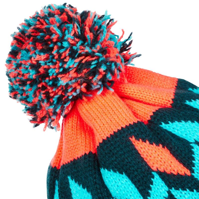 Far North Adult Ski Hat - Blue Orange