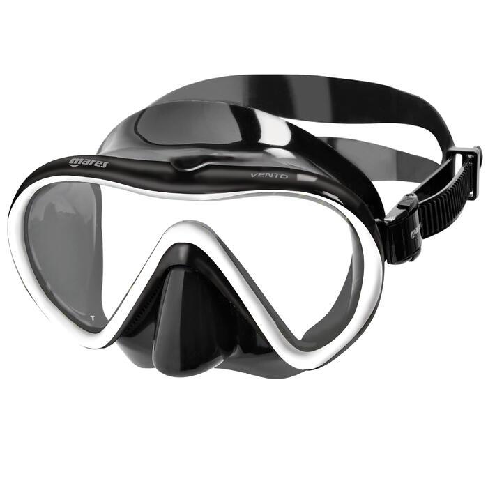 Schnorchel-Set X-One schwarz/weiß